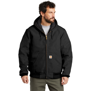 Carhartt® Tall Quilted-Flannel-Lined Duck Active Jacket