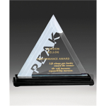 Triangular Jade Glass Award